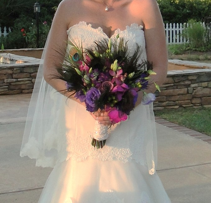 Wedding Flowers By On- Purple-16