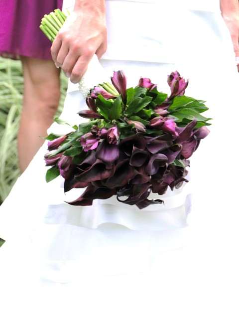 Wedding Flowers By On- Purple-17