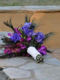 Wedding Flowers By On- Purple-18