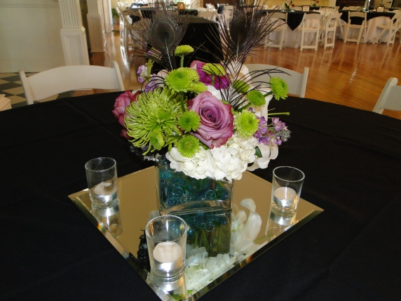 Wedding Flowers By On- Purple-2