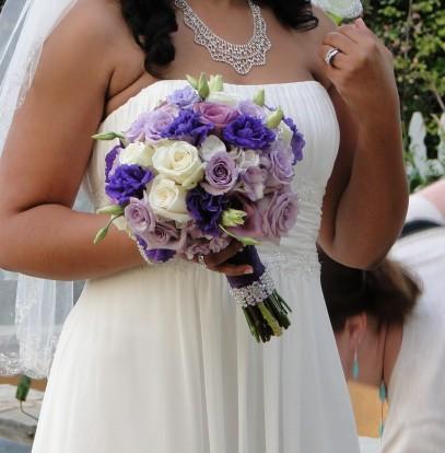 Wedding Flowers By On- Purple-26