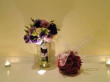 Wedding Flowers By On- Purple-29