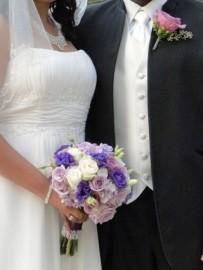 Wedding Flowers By On- Purple-32