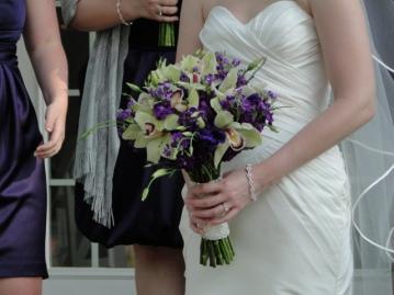 Wedding Flowers By On- Purple-5