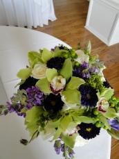Wedding Flowers By On- Purple-6