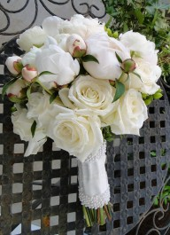 Wedding Flowers By On- White-30