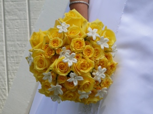 Wedding Flowers By On- Yellow-41