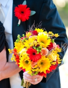 Wedding Flowers By On- Yellow-60